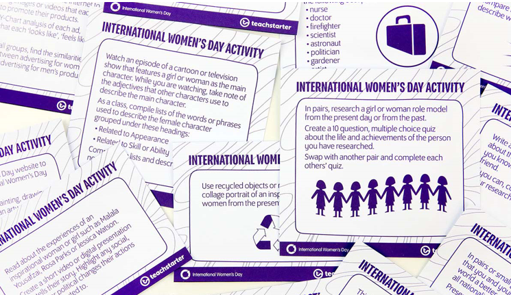 iwd teachers resources